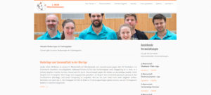 website badminton hüttschenhausen DaRa Innovations SEO